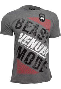 Camisa Venum Beast Mode Cinza