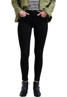 Calça Jeans Levis 720 High Rise Super Skinny Feminina - Feminino-Preto d8cf23170e9