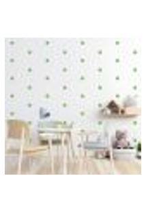 Adesivo Decorativo De Parede - Kit Com 230 Flores - 013Kaa15