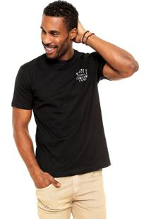 Camiseta Rusty Convict Preta