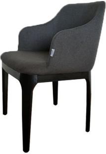 Cadeira Versailes C/ Braco Cinza Escuro 79 Cm (Alt) - 47548 - Sun House