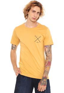 Camiseta Redley Silk Waves Amarela