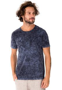 Camiseta Side Walk Camiseta Sun Azul Marinho