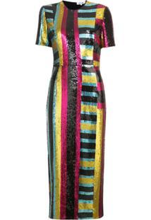20fda2a3b Vestido Diane Von Furstenberg Listrado feminino   Gostei e agora?