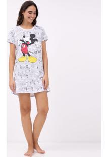 Camisola Com Estampa Mickey Mouse