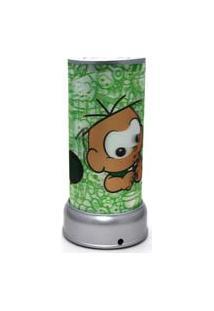 Abajur 3D Da Cebolinha Verde Mlp0032 - Turma Da Mônica