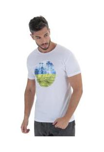 Camiseta Hd Horizon - Masculina - Branco