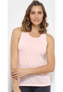 Regata Nike Balance Vnr Flec Feminina - Feminino-Rosa+Branco
