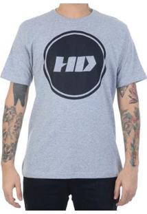 Camiseta Hd Basic Circle Masculina - Masculino