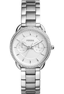 Relógio Fossil Feminino Tailor - Es4262/1Kn Es4262/1Kn - Feminino-Prata