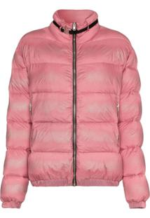 1017 Alyx 9Sm Buckle Embellished Feather Down Padded Jacket - Rosa