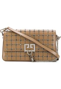Givenchy Embellished Charm Shoulder Bag - Neutro
