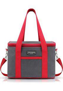 Bolsa Termica 8 Litros Jacki Design 16020 Cinza