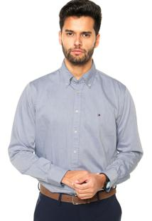 Camisa Tommy Hilfiger Classic Azul