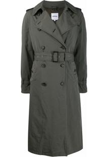 Aspesi Trench Coat Destroyed - Verde