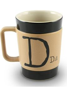 Caneca Coffe To Go- D 300Ml-Mondoceram - Pardo