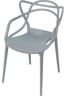 Cadeira Master Allegra Polipropileno Cinza - 46638 - Sun House