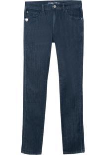 Calça John John Olinda Masculina (Jeans Escuro, 46)