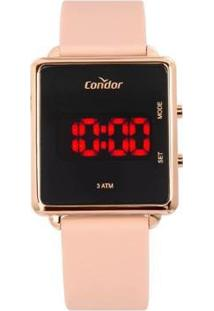 Relógio Condor Digital Cojhs31Bad/2J Feminino - Feminino-Rosa