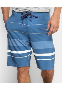 Bermuda Hang Loose Edge Masculina - Masculino-Azul