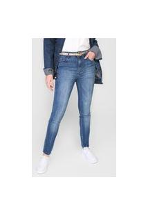 Calça Jeans Ellus Skinny Gisele Azul