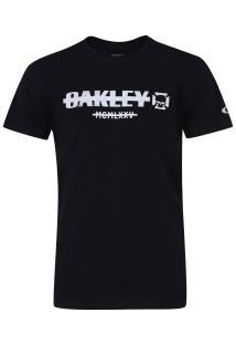 Camiseta Oakley Unsublished Tee - Masculina - Preto