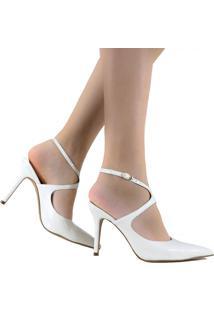Sapato De Noivas Zariff Shoes Salto Alto Branco