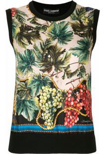 Dolce & Gabbana Blusa De Cashmere E Tricô - Preto