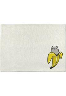 Tapete De Pano Para Banheiro Banana Único Pump Up