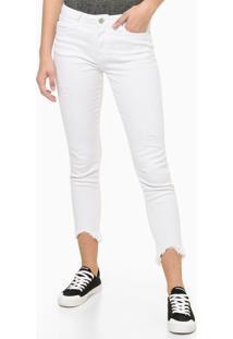 Calça Color Super Skinny Reveillon - Branco - 36