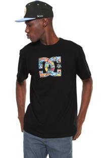 Camiseta Dc Shoes All City Preta