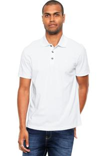 Camisa Polo John John Simple Basic Branca
