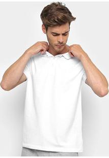 Camisa Polo Ellus 2Nd Floor Básica Masculina - Masculino-Branco