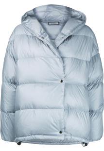 Peserico Hooded Padded Jacket - Azul