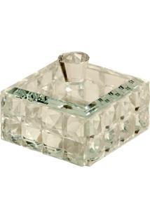 Porta-Joias De Cristal Decorativo Metric - Unissex
