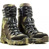 9060ea9d6 Coturno Couro Kallucci Militar Stii Troller Camuflado - Unissex
