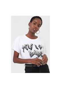Camiseta Triton Self Love Branca
