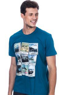 Camiseta Long Island Polaroids