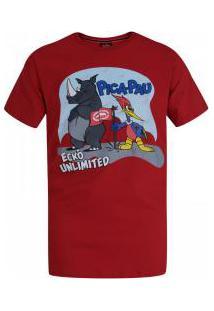 Camiseta Ecko Pica-Pau E618A - Masculina - Vermelho