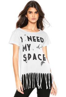 Camiseta Fiveblu Franjas Branca