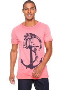 Camiseta Polo Wear Ancora Coral