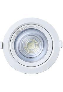 Spot Embutir Redondo Alltop Led Par30 10W 6500K 45º Taschibra 6500K Luz Branca