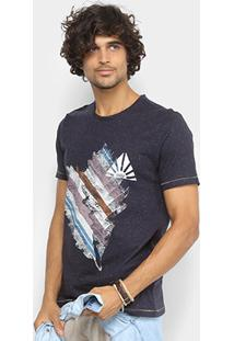 Camiseta Redley Esp Silk Luz Natural 118839 - Masculino