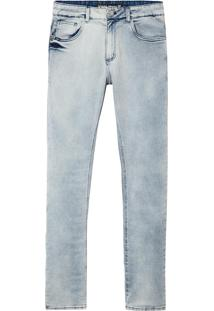 Calça John John Skinny Sidney Jeans Azul Masculina (Jeans Claro, 44)