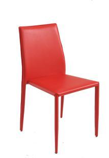 Cadeira Amanda Vermelha Rivatti Móveis