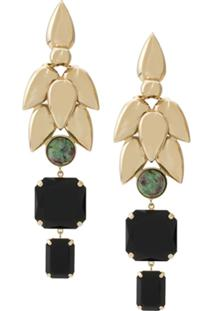 Isabel Marant Pop Bunch Earrings - Preto