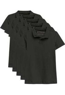Kit De 15 Camisas Polo Femininas