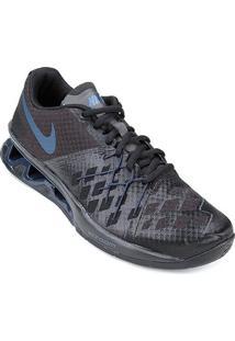Tênis Nike Reax Lightspeed 2 Masculino - Masculino-Preto+Azul