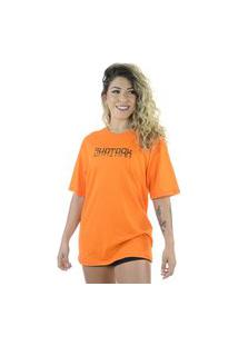 Camiseta Shatark Graffiti - Laranja