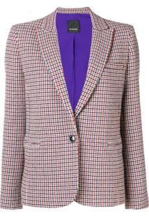 Pinko Blazer De Tweed - Neutro